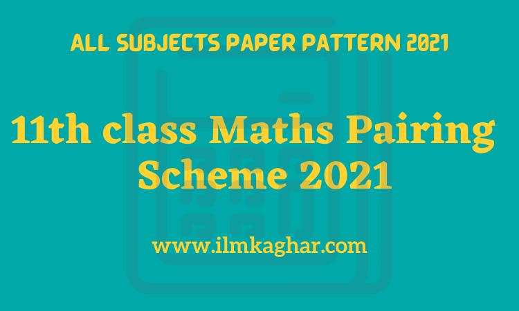 11th class Maths pairing Scheme 2021- FSc/ICS 1st year