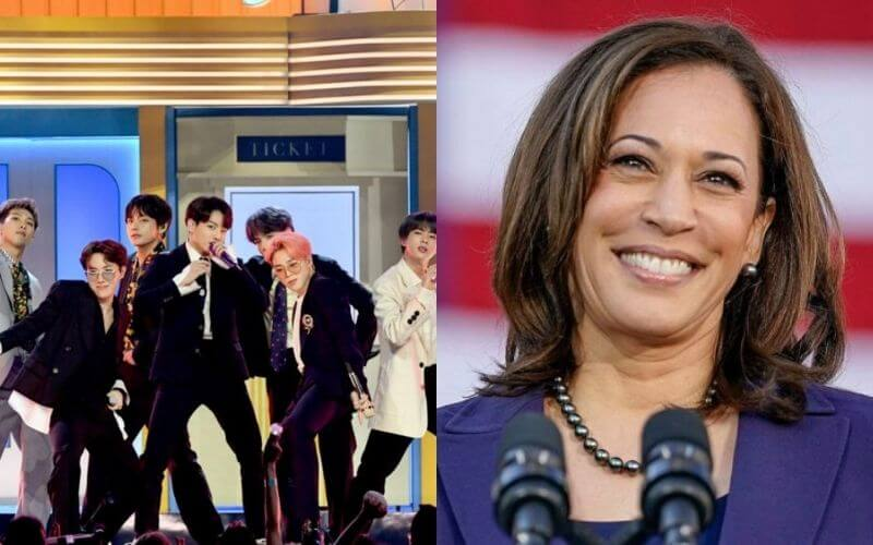 BTS fans excited after learning VP Kamala Harris is also an ARMY
