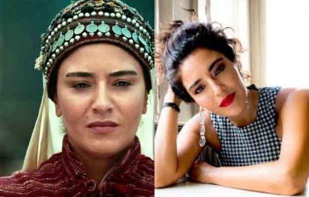 Dirilis Ertugrul actress Banu Çiçek admire Pakistani boy for making her portrait