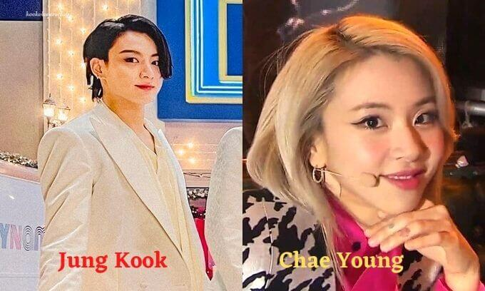 Jung Kook looks like a female version of Chae Young
