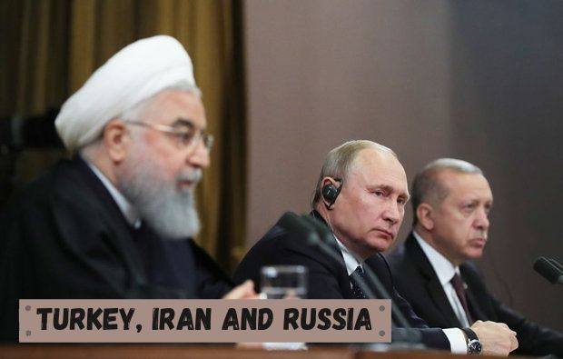 Turkey,Iran and Russia are together against US