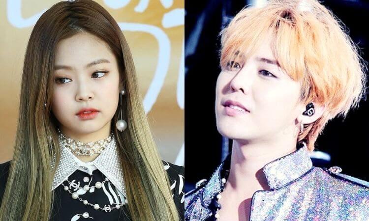 Jennie and G-Dragon Dating BLACKPINK, BIGBANG Members