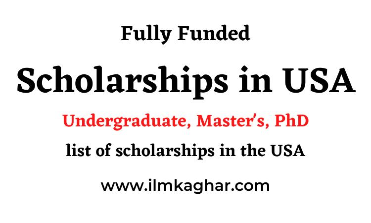 Scholarships in USA 2021-2022 | USA Scholarships