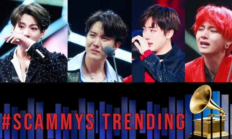 Grammys 2021 BTS Army Started #Scammys Trending After Grammys loss